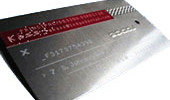 Classey Metal Card